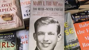 Das Buch über Donald Trump von seiner Nichte Mary ist nach einem Rechtsstreit darüber im Handel