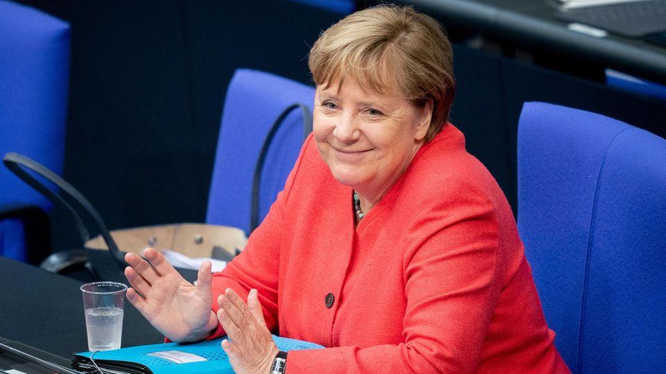 Angela Merkel feiert 66. Geburtstag