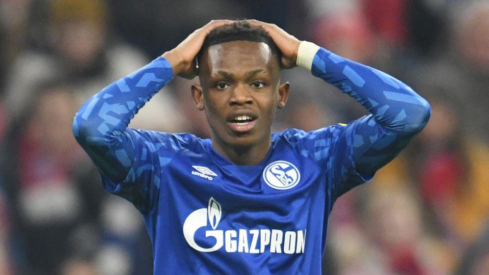 Rabbi Matondo spielt seit Anfang 2019 für den FC Schalke 04