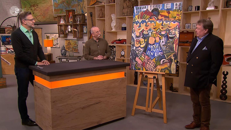 Bares für Rares: Detlev Kümmel, Horst Lichter, Frank Weindorf
