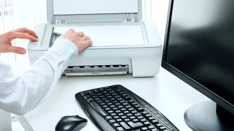 Ein Drucker kann meistens scannen und kopieren