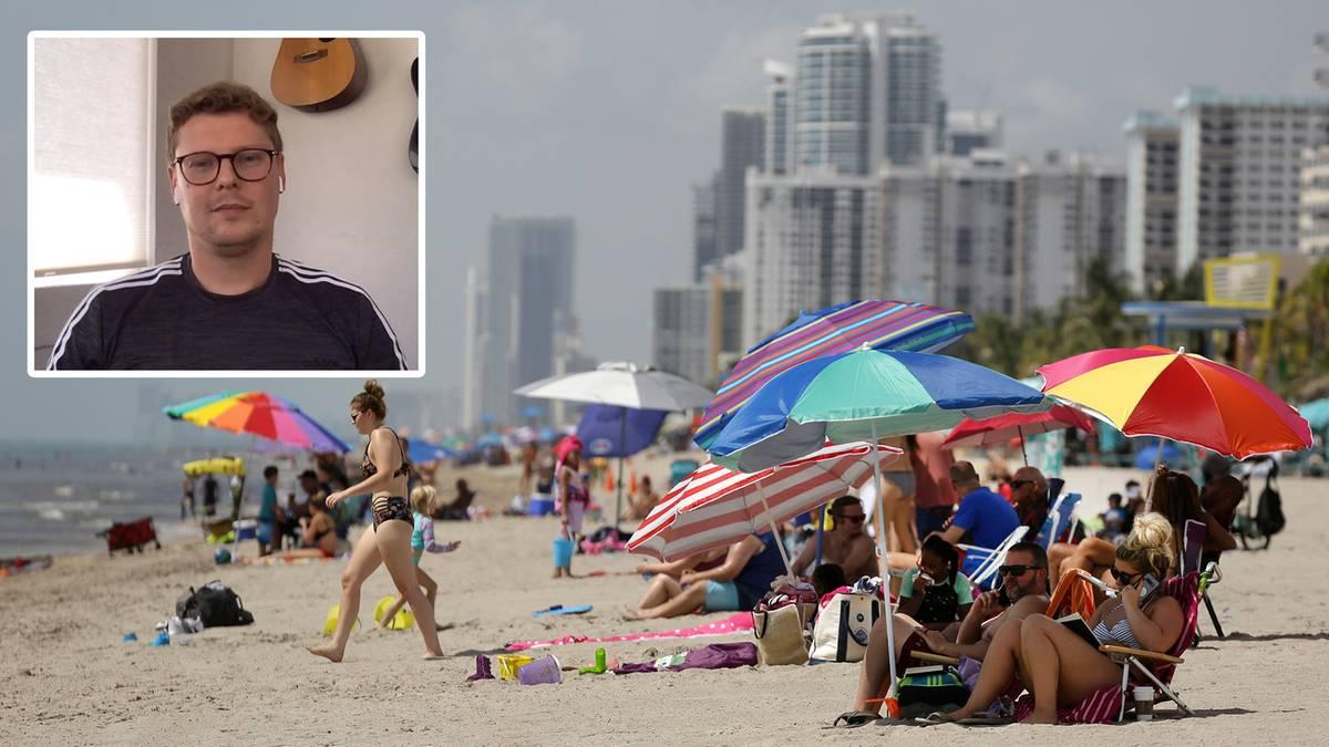 "Coronavirus in Florida: ""Hier ist nichts unter Kontrolle"" (Video)"
