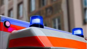 Krankenwagen als Symbolfoto für Nachrichten aus Deutschland