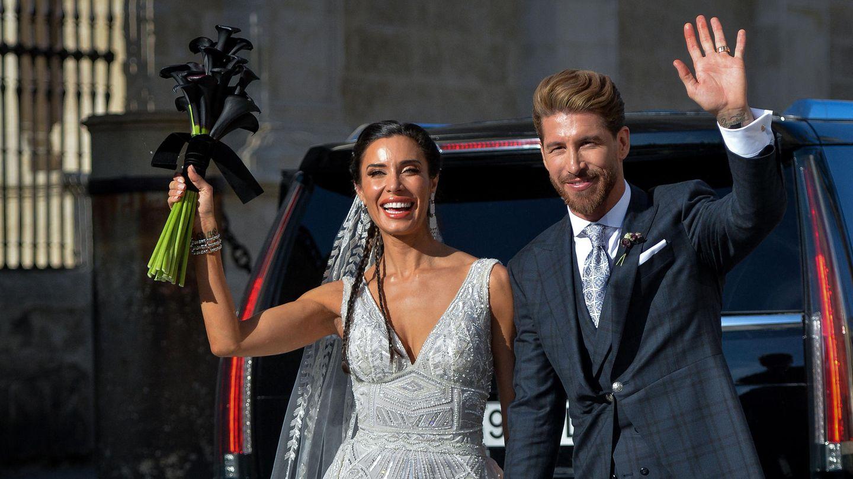 Sergio Ramos bei seiner Hochzeit mit Pilar Rubio im Juni 2019