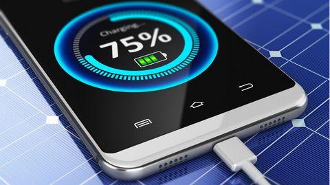Smartphone-Akkus können mittlerweile sehr schnell geladen werden (Symbolbild)