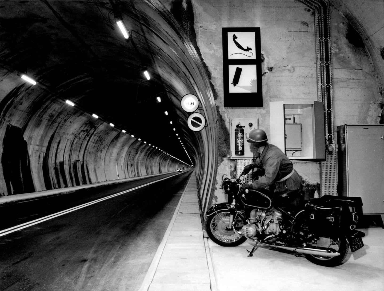 16. Juli 1965: Montblanc-Tunnel wird eröffnet