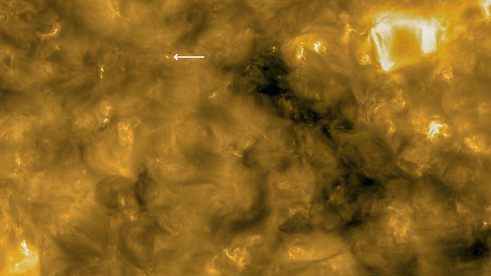 Die Sonneoberfläche gesehen vom Solar Orbiter der Esa