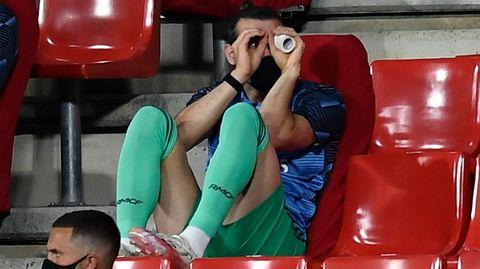 Real-Star Gareth Bale machte in den vergangenen Tagen mit Faxen auf der Ersatzbank auf sich aufmerksam