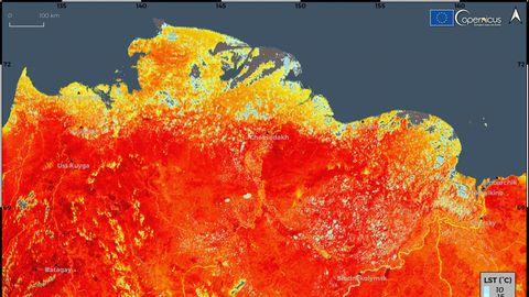 Hitzewelle in Sibirien