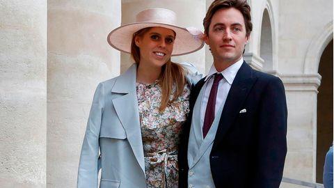 Prinzessin Beatrrice undEdoardo Mapelli im vergangenen Jahr in Paris