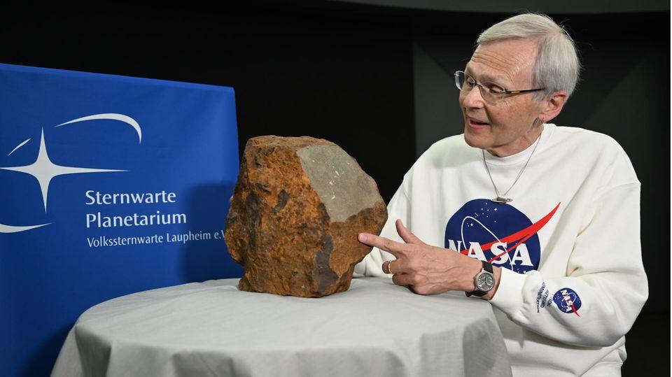 News - Steinmeteorit
