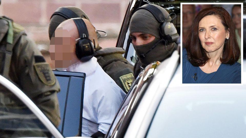 Halle-Attentäter Stephan B. am Bundesgerichtshof; forensische Psychiaterin Nahlah Saimeh