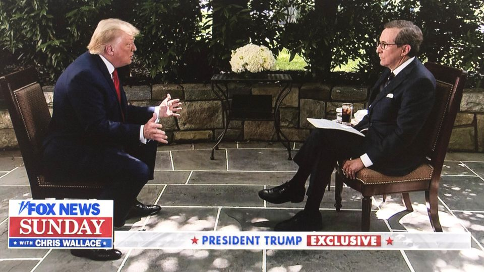 Interview Donald Trump bei Fox News