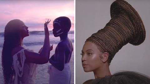 "Trailerausschnitt zu Beyoncés neuem Visual-Album ""Black is king"""
