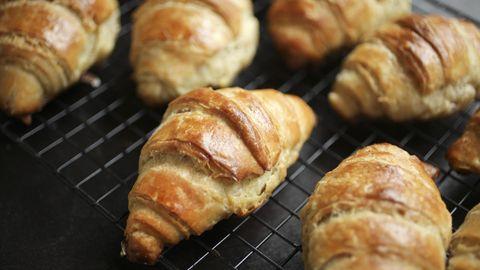 Sauerteig-Croissants
