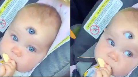 Baby mit drei Augen: Was es mit dem Viral-Video auf sich hat