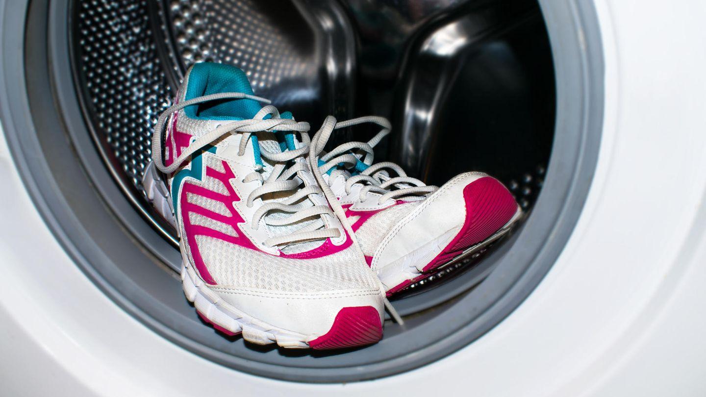 Turnschuhe waschen in der Waschmaschine