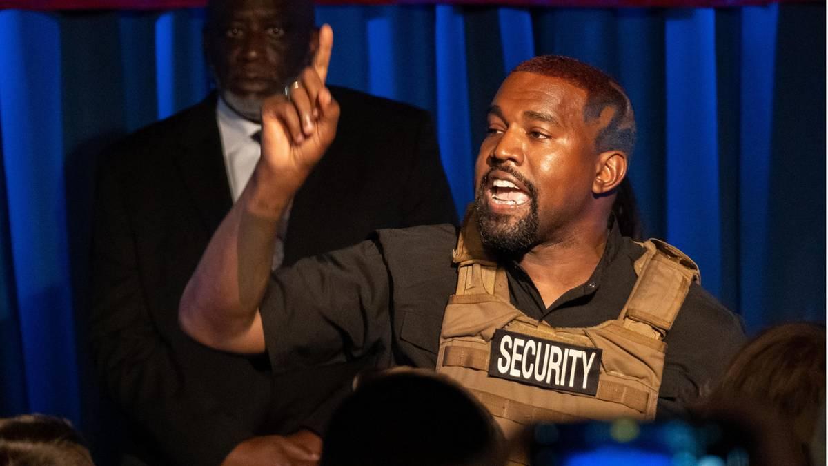 Große Sorge um Kanye West: wütende Tweets und Vorwürfe gegen die eigene Familie