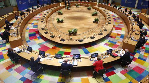 Der runde Tisch des EU-Gipfels