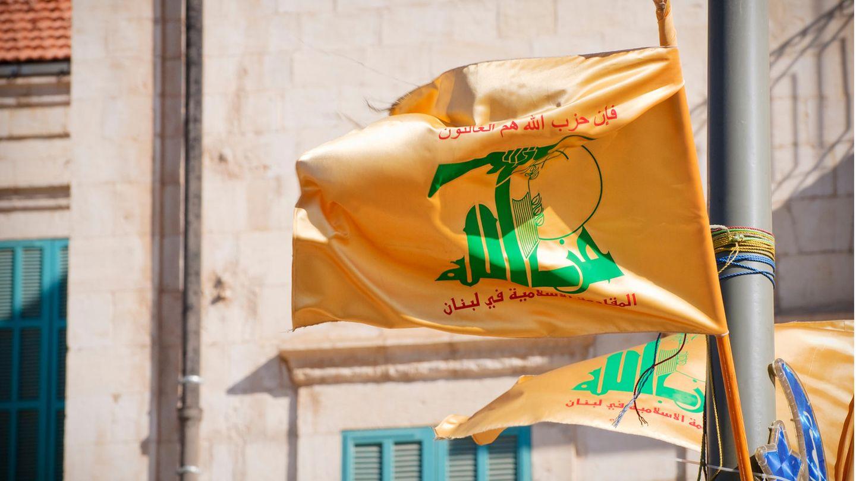 The flag of Hezbollah