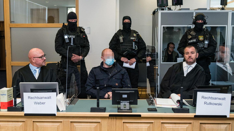 Halle-Attentäter Stephan B. zum Auftakt des Prozesses
