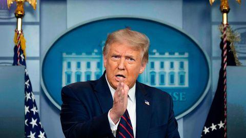 Donald Trump spricht