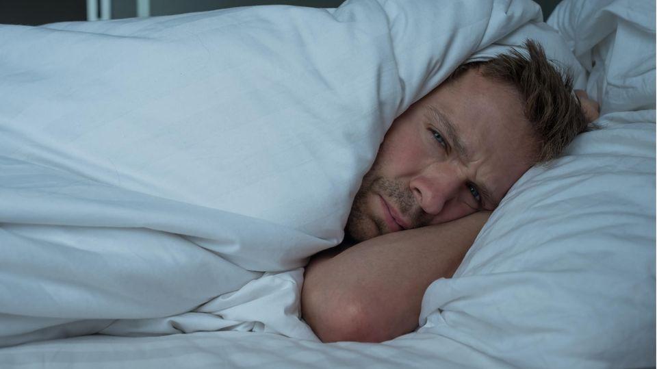 Ein schlafloser Mann