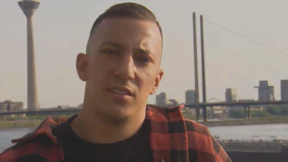 Rapper Farid Bang im Video für die Düsseldorfer SPD