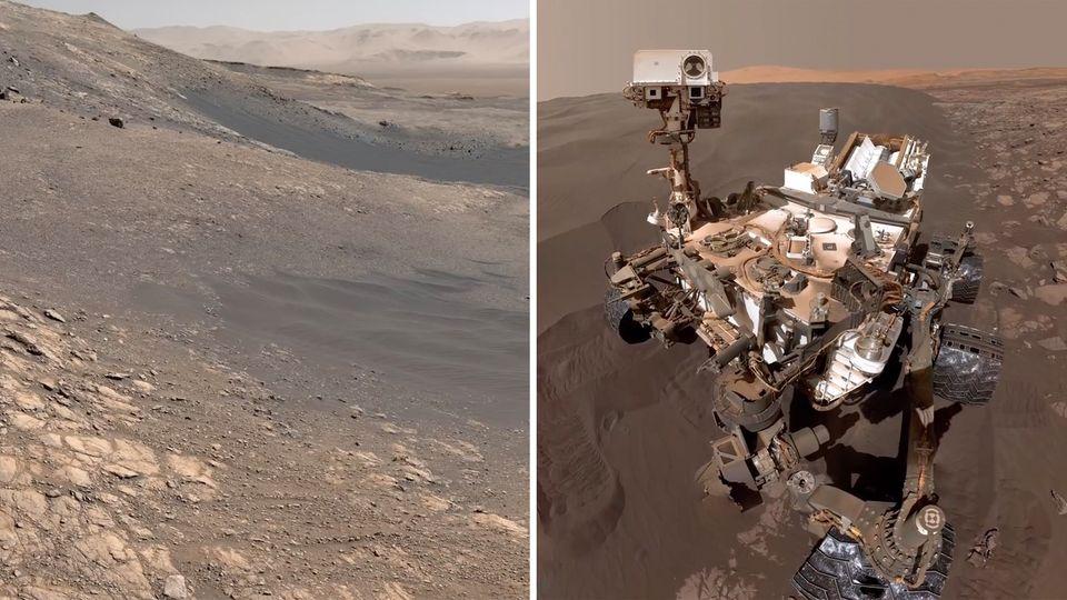 Faszination Mars: NASA veröffentlicht neue hochauflösende Bilder des roten Planten