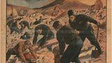 """Die Frontseite des französischen """"Le Petit Journal"""" berichtet vom verheerenden Erdbeben in Italien am 23. Juli 1930"""