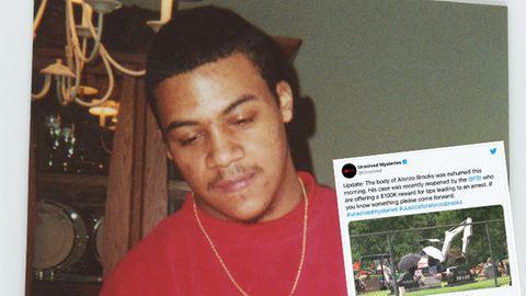 Der Körper von Alonzo Brooks wurde exhumiert