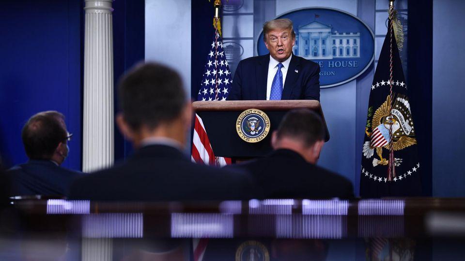 Coronavirus: Drei Tatsachen, die Trump immer noch falsch kommuniziert