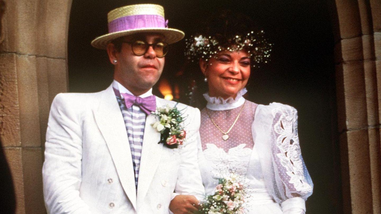 Elton John und Renate Blauel