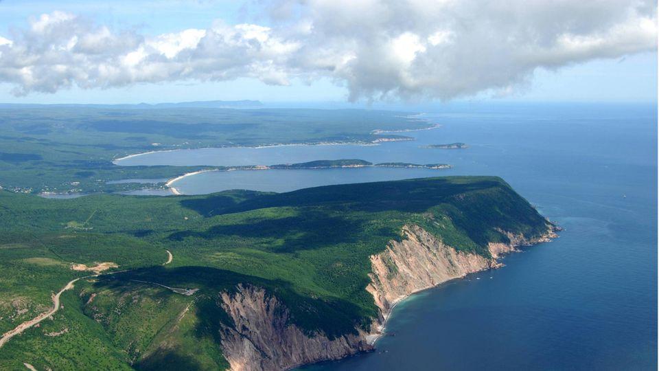 Cape Breton Island in der Provinz Nova Scotia