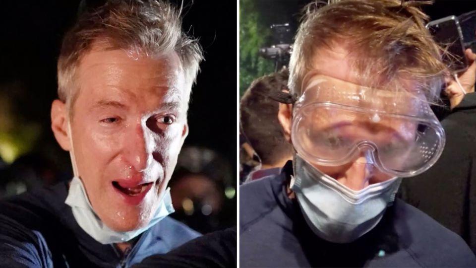 Ted Wheeler: Bürgermeister von Portland bei Protesten mit Tränengas besprüht