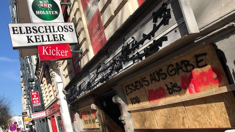 """""""Elbschlosskeller"""" in Hamburg"""