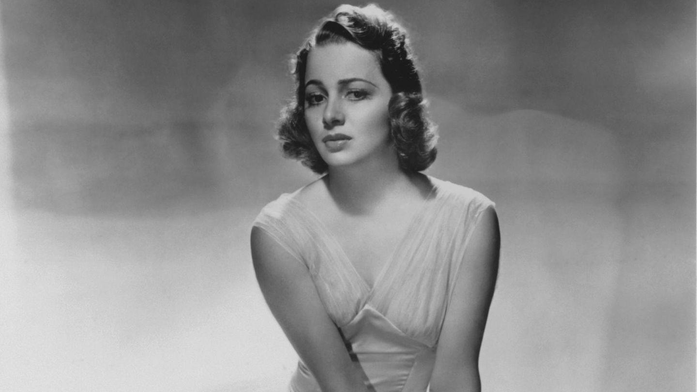 Schauspielerin Olivia de Havilland auf einer Aufnahme aus dem Jahr 1938