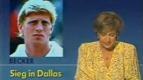 Tagesschau am 2. April 1988: Dagmar Berghoff