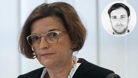 Richterin Ursula Mertens ruft zur Verhandlung gegen den Attentäter von Halle auf.