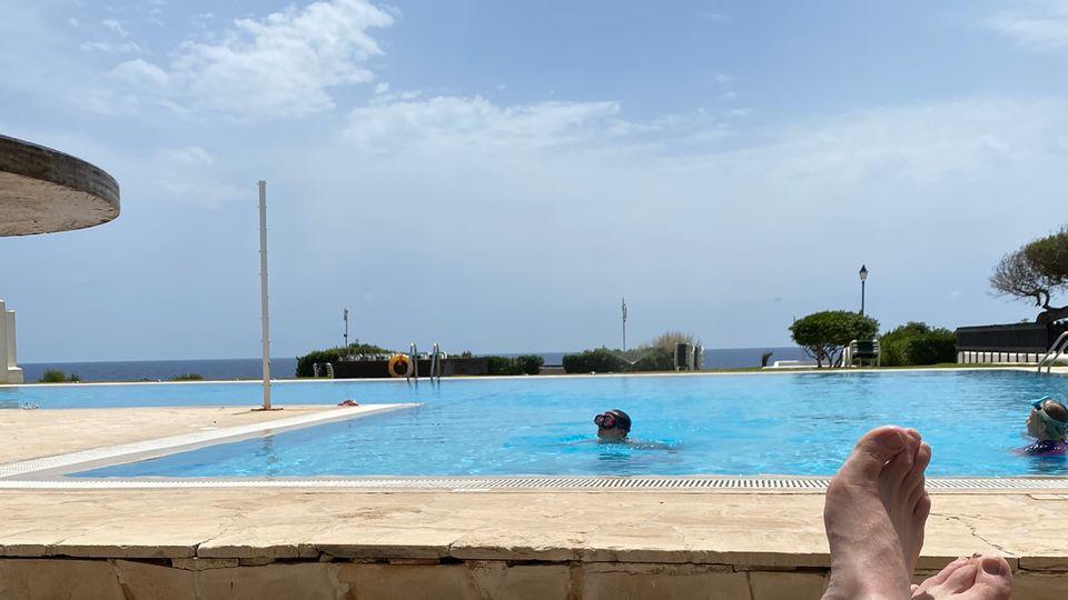 Die Pools auf Mallorca waren wohl noch keinen Sommer so leer wie diesen