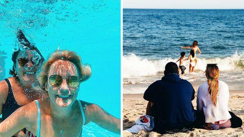Stars und Promis im Urlaub