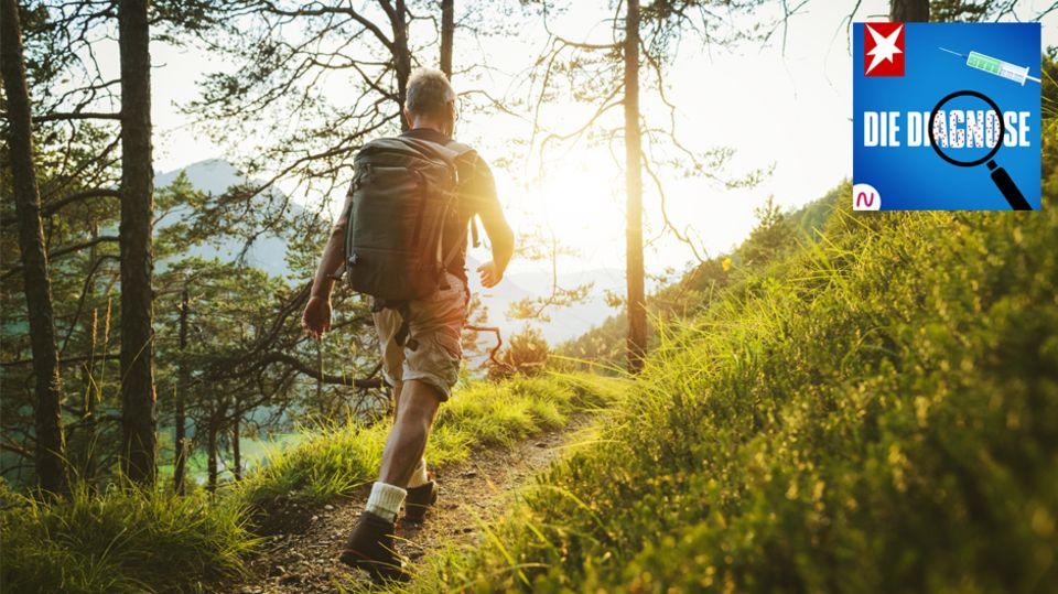 """""""Die Diagnose"""": Das verräterische Lid: Beim Wandern bekommt ein Mann Sehstörungen – ein hängendes Lid erklärt, warum"""