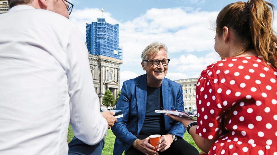 Hans-Ulrich Joerges im Interview mit Anna.Beeke Gretemeier und Florian Gless in Berlin