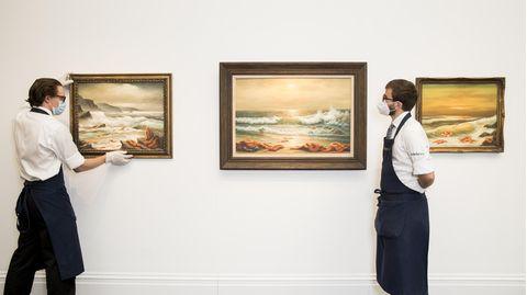 Banksy versteigert Werk für guten Zweck
