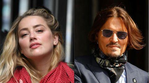 Mitten in einer Schlammschlacht: Amber Heard und Johnny Depp