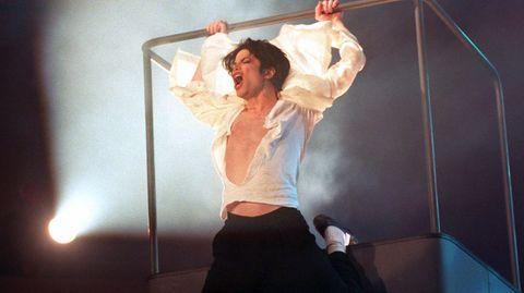 "Michael Jackson bei ""Wetten, dass ..?"""