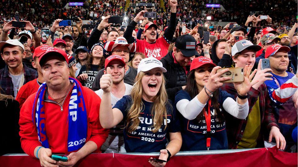 Wahlkampf Trump Musik