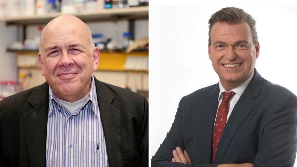 Corona-Forschung : Diese Männer lernten sich durch den Sars-Ausbruch 2003 kennen. Zeit für ein erneutes Gespräch