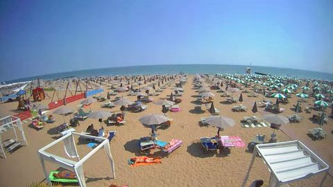 Webcam in Jesolo an der Adria in Italien