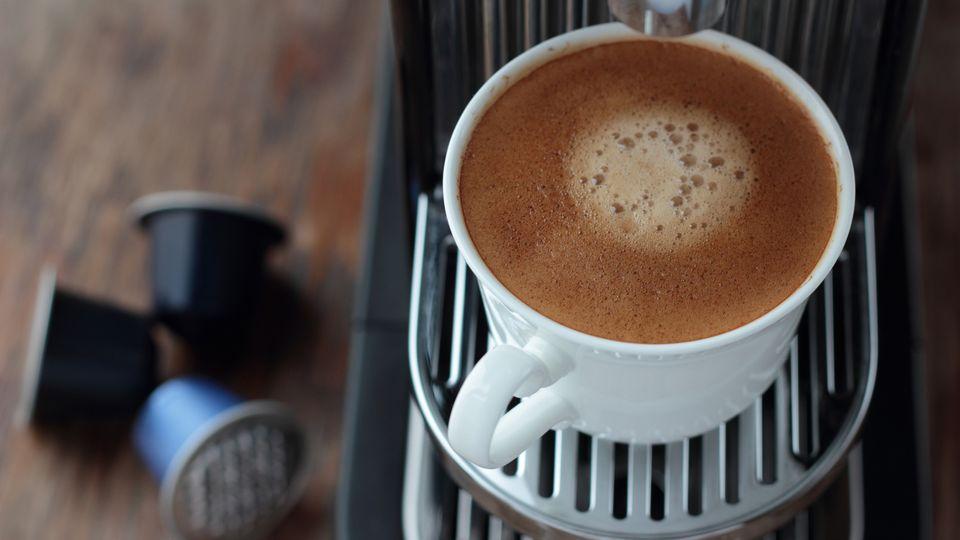 Kaffeekaspelmaschine